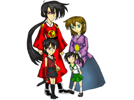 Satoshi and his new family by s0ph14luvukn0w