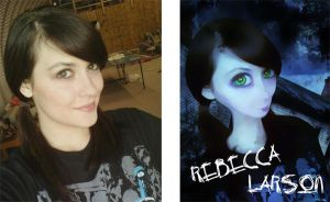 Doll porcelain before and after 2 by rockerbmg666