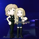 Taylor Swift and Avril Lavigne by NickyToons