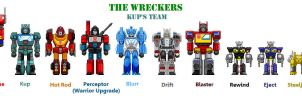 Fan of Wreckers Kups Unit by theSpaniel