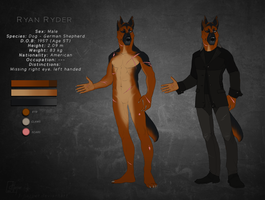 Ryan Ryder (Reference Sheet) by J-Harper