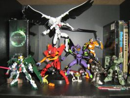 Evangelion -and others by allaboutnothing