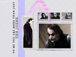 The Joker - More Than That by LivvyxBaby