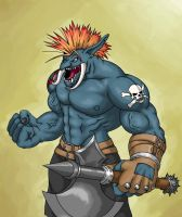 Troll char colored by RtotheYO