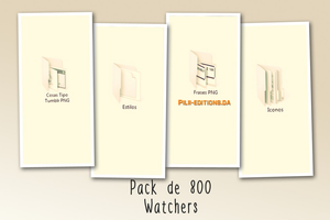 +Pack de 800 Watchers   Pilii-Editions by Pilii-Editions