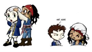 Wig Abuse - PotC by Jackie-the-druid