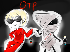 my actual homestuck otp by 420weedlord420