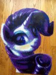 {Perler} Rarity Looking Fabulous by OddishCrafts