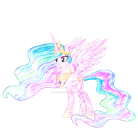 Glass Ponies - Princess Celestia by Earthstar01