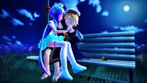 [MMD] Oliver x Aoki (requested) by Snorlaxin