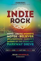 Indie Rock Flyer by styleWish