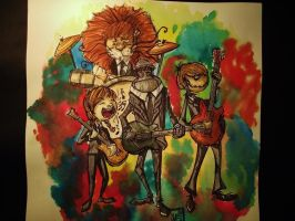 The Amazing Wizard of Oz_x_Beatles by Shigurui