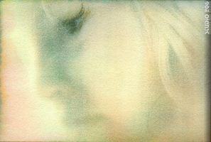 Allie in Gum biChromate by PhotographybyVictor