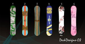 Snowboard DeckDesign by B3Ns