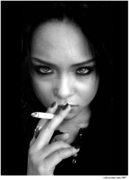 it's only a cigarette, BABY. by xALWAYSxINxVAINx