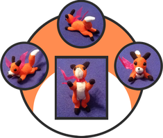 Fox Plush by Myklor