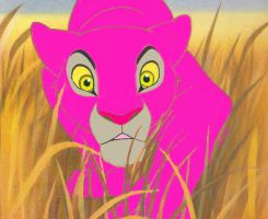 LadyBee lioness lies in wait by LadyBee-Moy