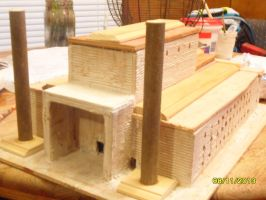 Solomons Temple WIP by Randall41980