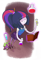 Magic and Science! by TwitchyKismet