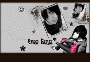 wall Emo Boys by yaliguynette