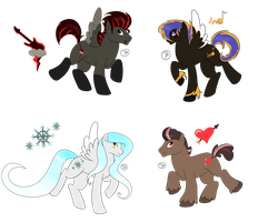 Pony Adopts (CLOSED) by Justpeacheyy