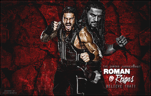 Roman Reigns Signature 2015 by SoulRiderGFX