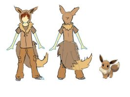 PKM: Eevee Cosplay Design by TamRaki