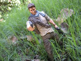 Play arts kai Uncharted drak figure by PokepictureFigurefun
