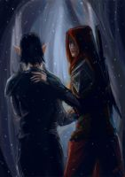 Hawke and Merrill by winterqueen