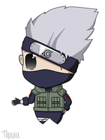 Kakashi - Chibi  (digital version) by Thavia