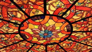 Stained Glass Ceiling by andromeda