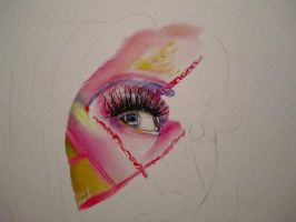 Nicki Minaj: Roman Reloaded WIP2 by PriscillaW