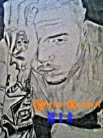 Chris Brown by MarcusHECANDRAWBoggs