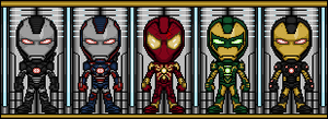 Extra Iron Armors by spid3y916