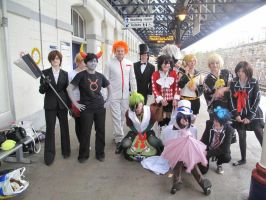 Dee-con Train group XD by CrystaltheEchidna01