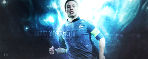 Samir nasri by xIced