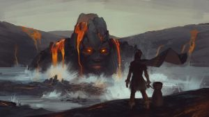 Lava God by GloriousRyan
