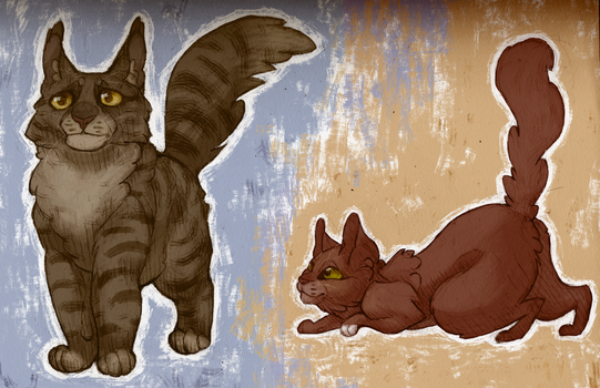 Bramblestar and Squirrelflight by Boisk