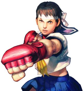Street Fighter X Fatal Fury Sakura bio and quotes by JohnnyOTGS