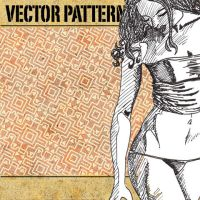vector pattern 111 by paradox-cafe