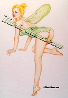 tinkerbell painted by MarioChavez