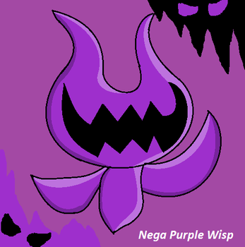 Nega Purple Wisp by JerrythePlayer360