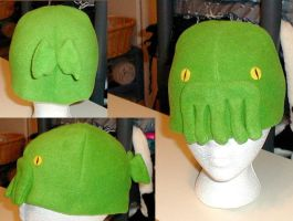 Cthulhu hat by chibishinigami