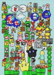 Mario : pattern by leseldur