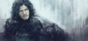 Jon Snow by JoannaJohnen