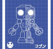 Servbot blue print thingy by rongs1234