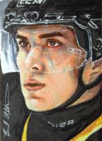Nail Yakupov Leaf Best of Hockey sketch card by therealbradu