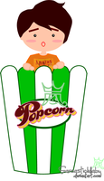Popcorn by sarcasticlullaby