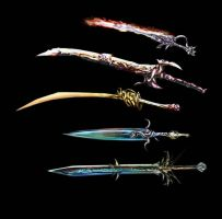 Weaponry set 90 finished by Random223