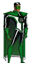 Parallax Kyle Rayner DCAUstyle by Azraeuz